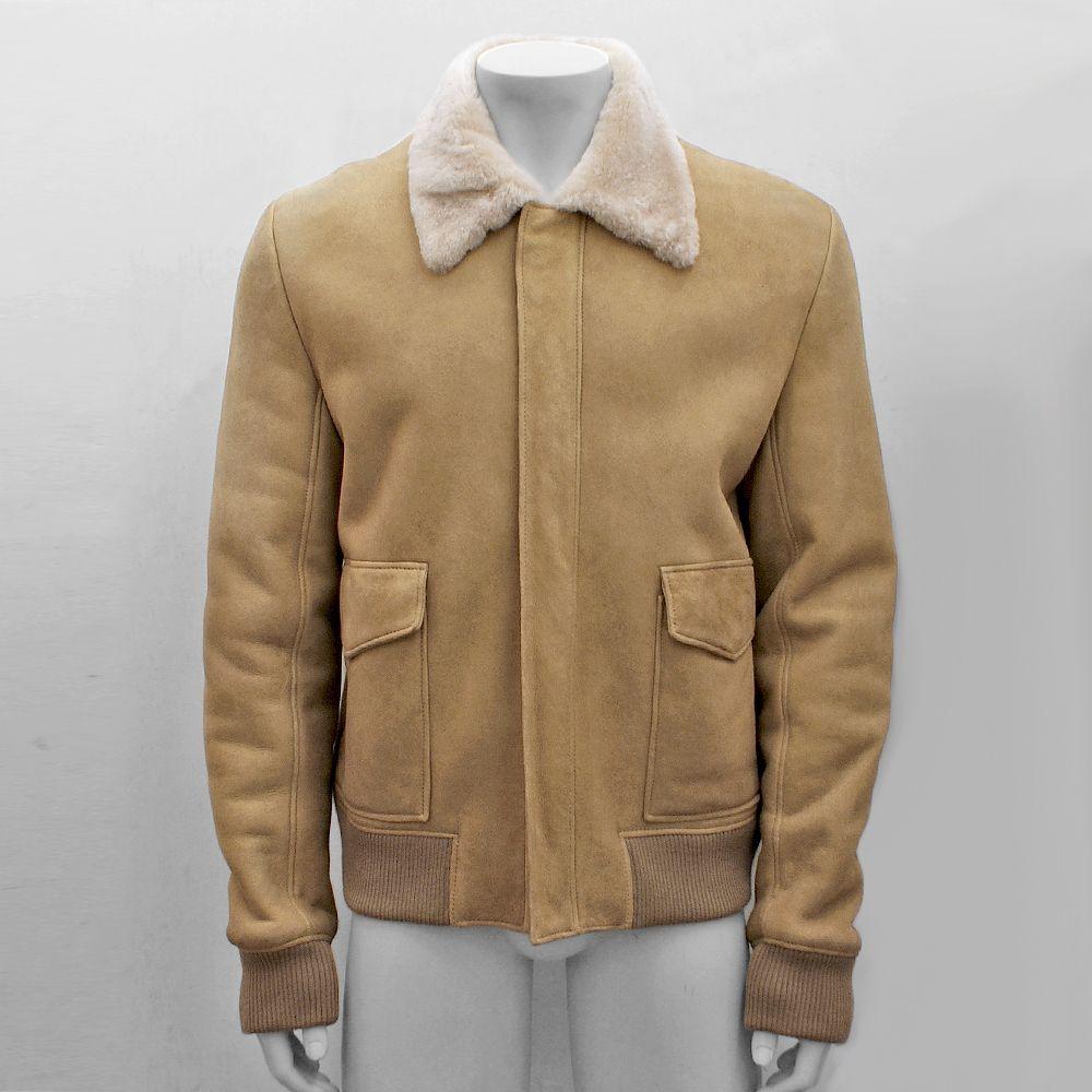 New Men Dior Homme Beige Shearling Suede Leather Jacket Genuine Rrp 1685 54 Xxl Dior Homme Men Dior Leather Jacket [ 1000 x 1000 Pixel ]