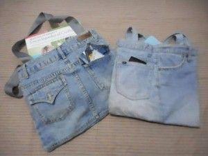Cara Membuat Tote Bag Atau Tas Dari Jeans Nyonya Malas Tas Menjahit Jahit Lurus