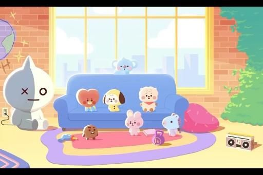 BT21 BECOME BABY ANIMATION FULL VER.