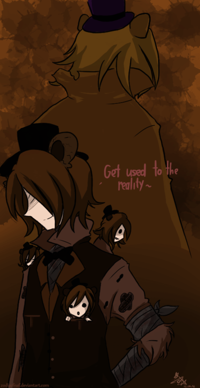Nightmare Fredbear  Nightmare Freddy: Get used to reality