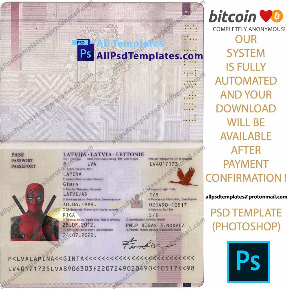 United Kingdom Id Identity Card Template In Psd Format Card Template Templates Document Templates