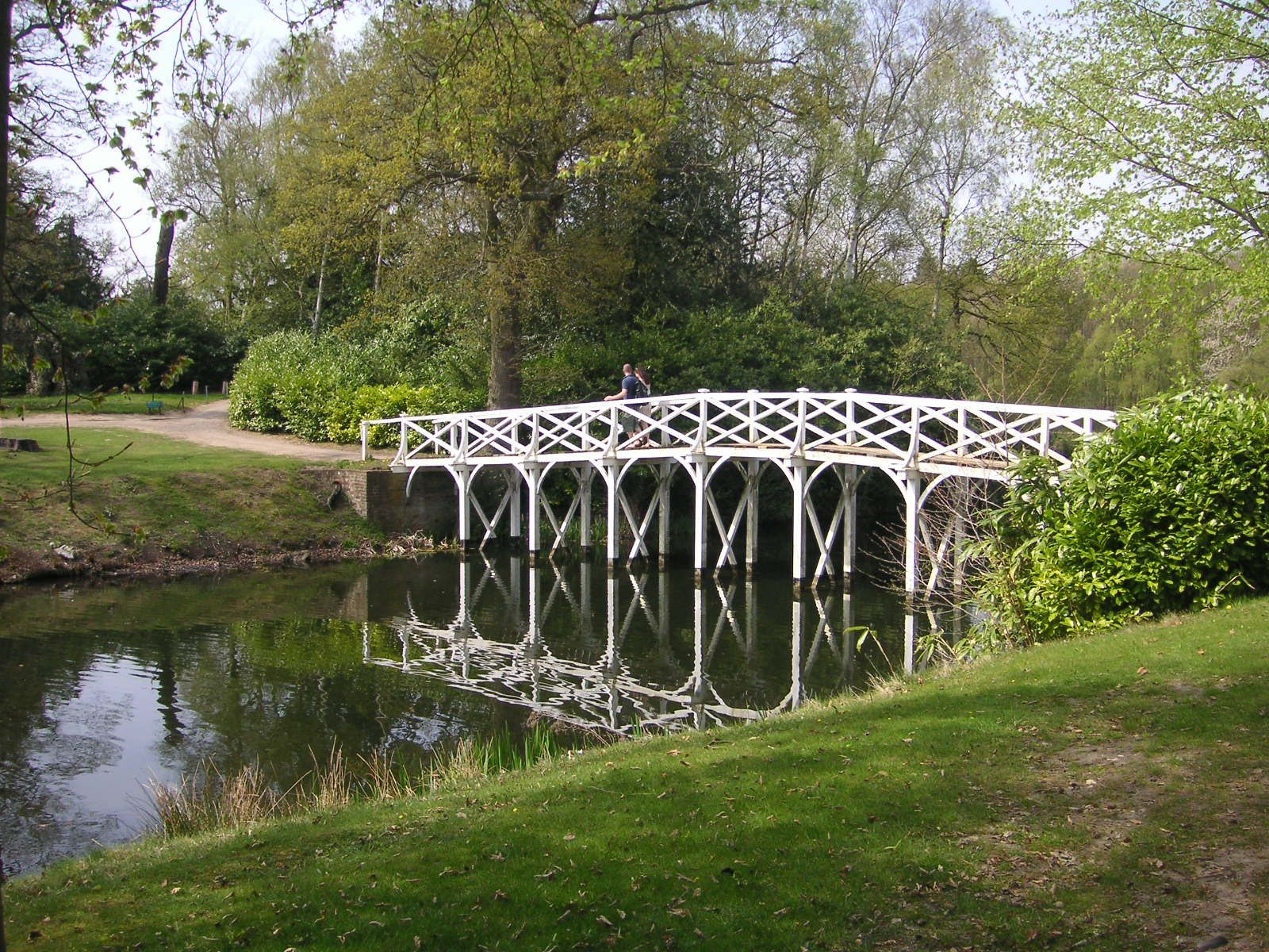 Chinese Bridge, Painshill, Surrey   Not Strictly Chinese In Design, But  Described As Such As Early As 1763