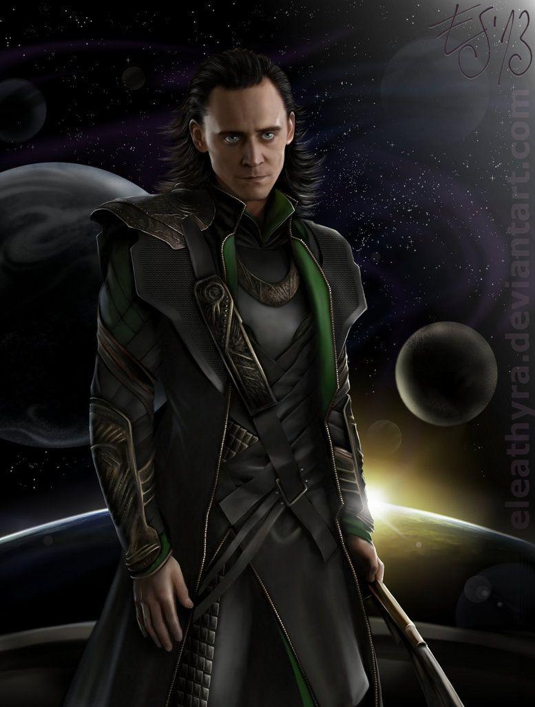 Loki and the universe by *eleathyra on deviantART
