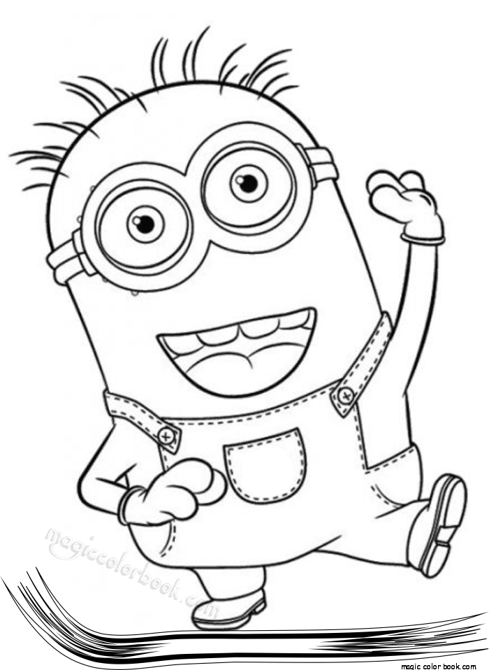 Minions Archives - Magic Color Book Minion Coloring Pages, Minions  Coloring Pages, Disney Coloring Pages