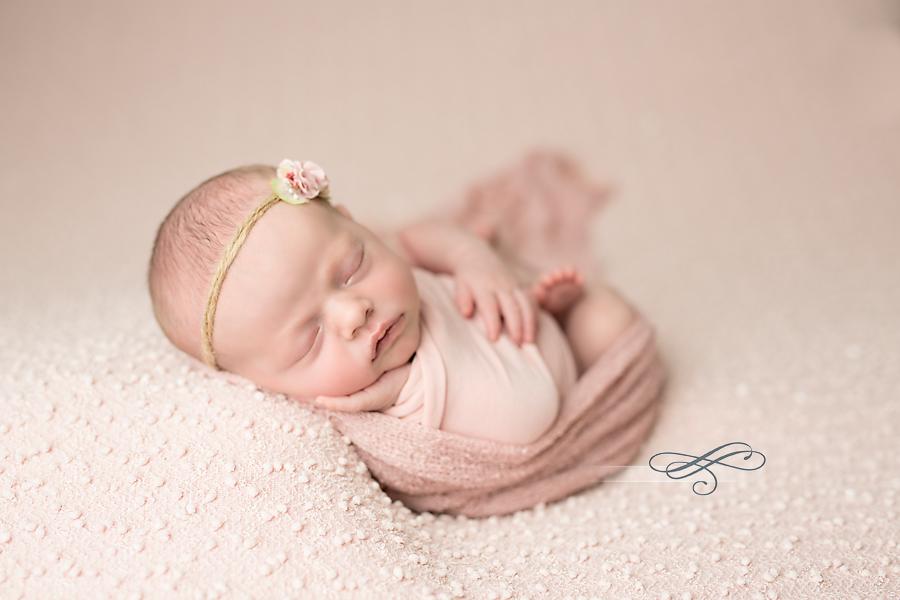 Ballet pink newborn girl photo lovin the light photography gainesville fl