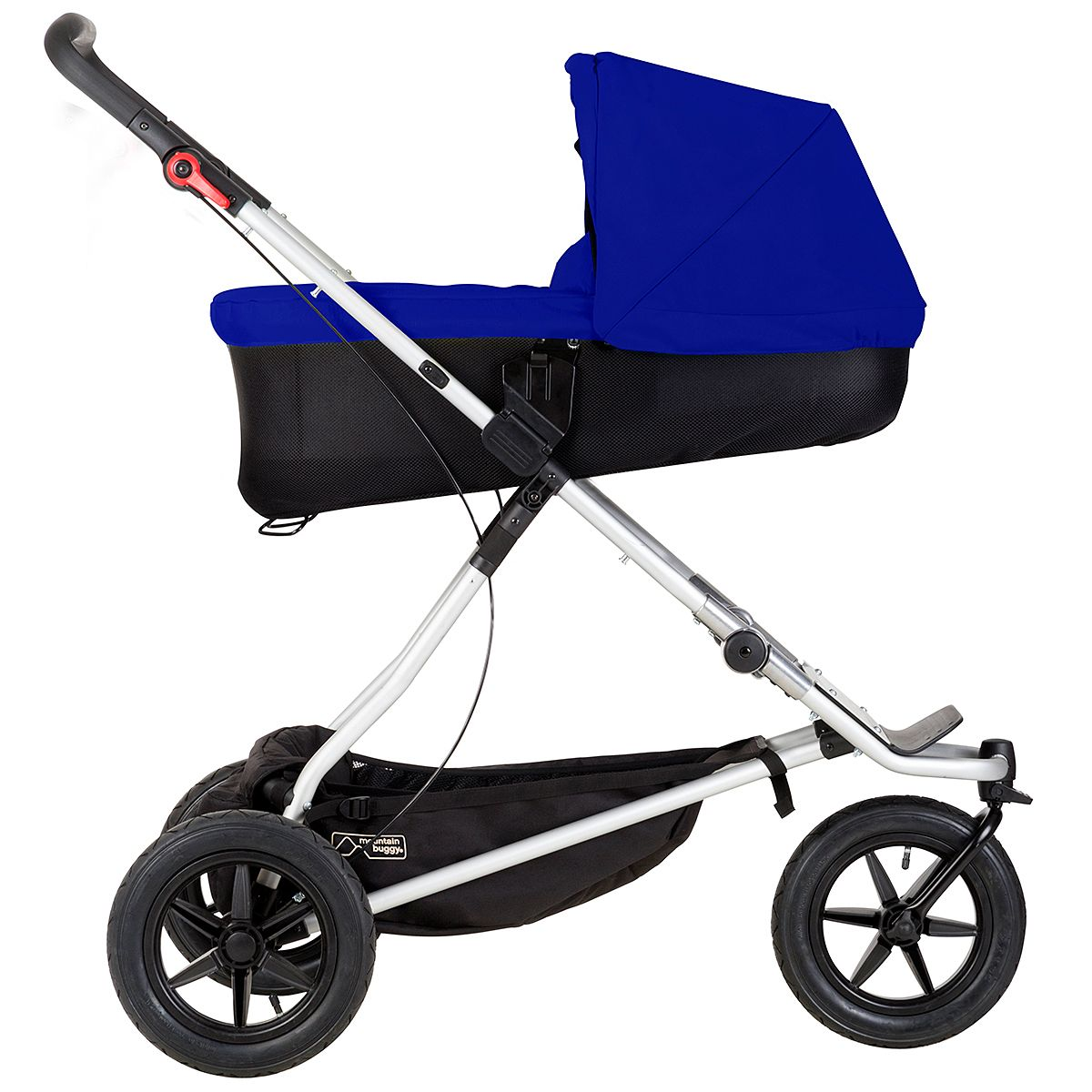 Mountain Buggy One Stroller With Carrycot Plus In Reflux Mode