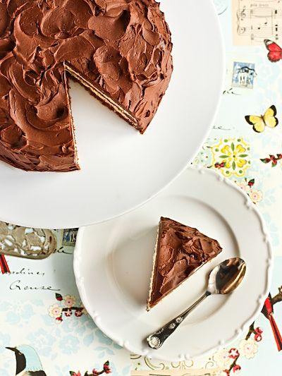 Milo Cake Layered With Condensed Milk Icing And Milo Ganache By Raspberri Cupcakes Via Flickr
