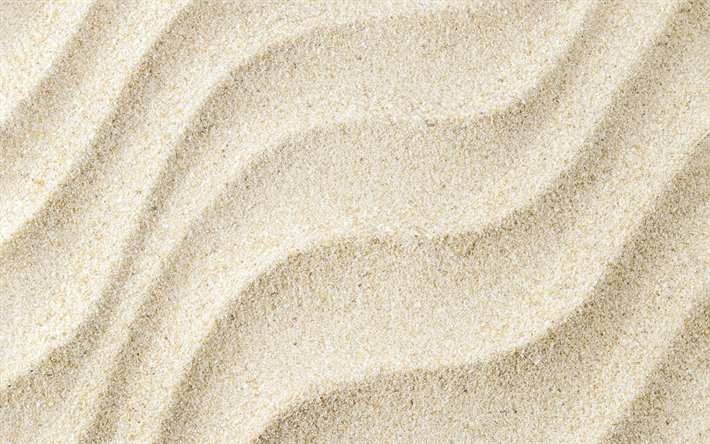 Download Wallpapers Texture Of Sand Waves In The Sand Beach White Sand Summer Besthqwallpapers Com Texture Photography Sand Textures Photography Genres