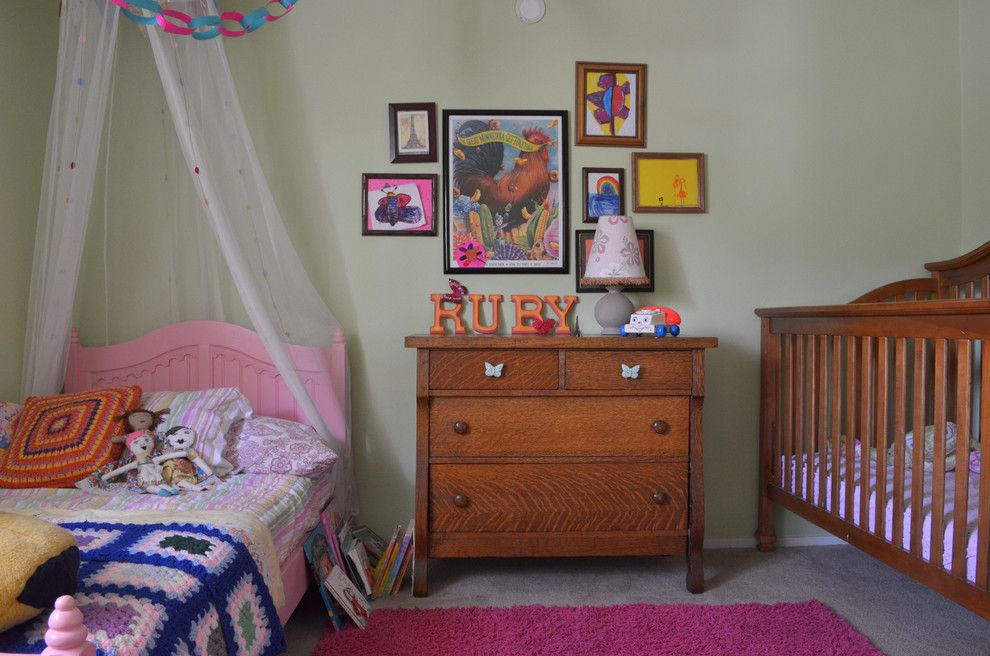 cozy and inviting shared nursery