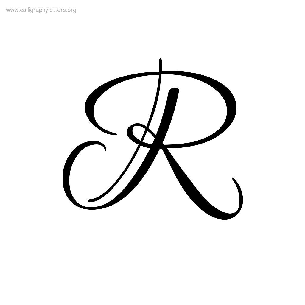 Image Result For Lettering R