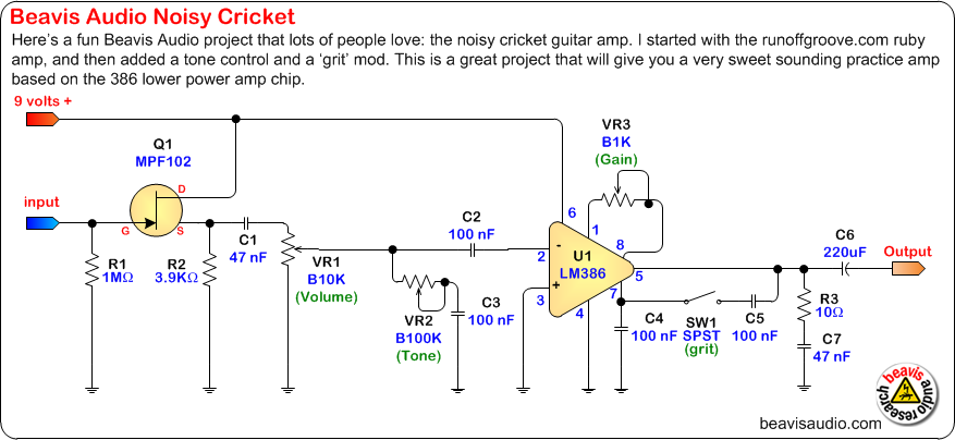 Circuit Schematic Guitar Pre Circuit On Violin Preamp Schematic