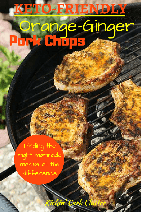 KETO-FRIENDLY Orange-Ginger Pork Chops - All you need to