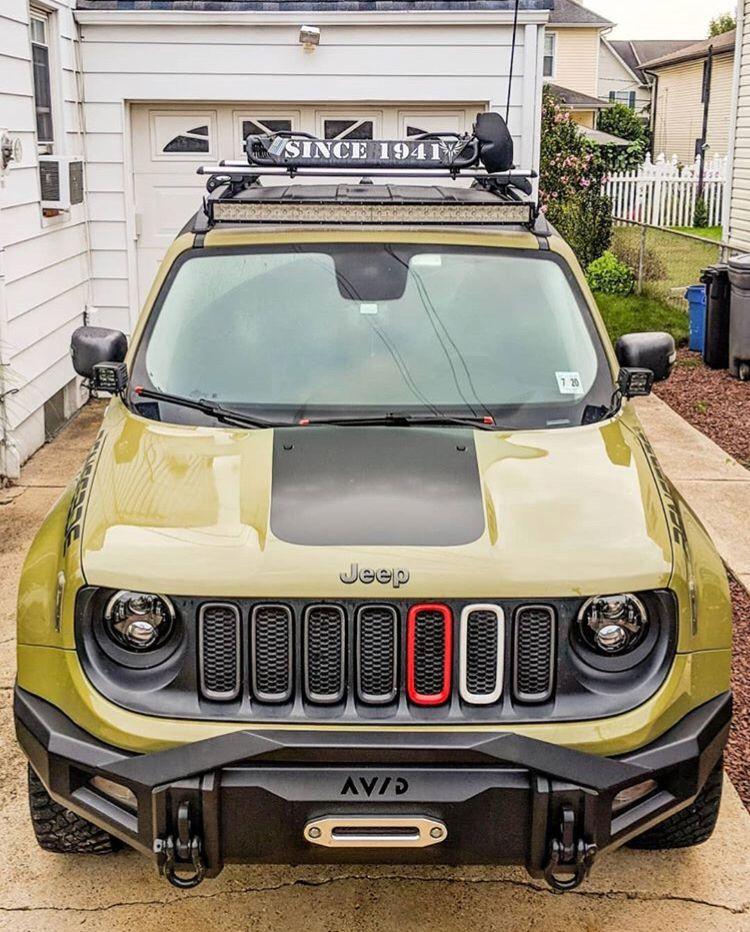 Jeep Renegade Bumper Guard : renegade, bumper, guard, Jeep:, Renegade, Front, Bumper