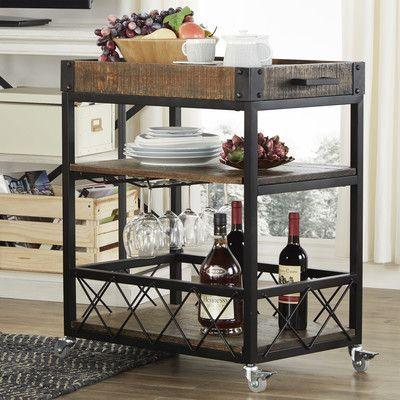 Marvelous Mercury Row Eastfield Sofia Serving Cart U0026 Reviews | Wayfair