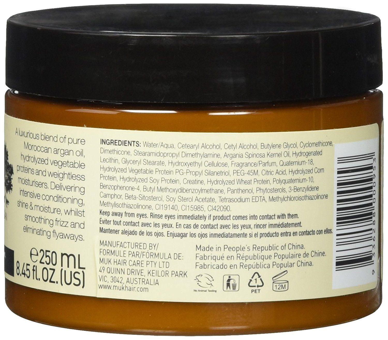 Muk Haircare - Spa Argan Oil Repair Mask, 8.5 Ounce Cinsay Living Active Enzyme Facial Peel - .25 oz (7 mL)