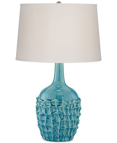 Kathy ireland home by pacific coast ceramic basket weave table lamp lighting lamps