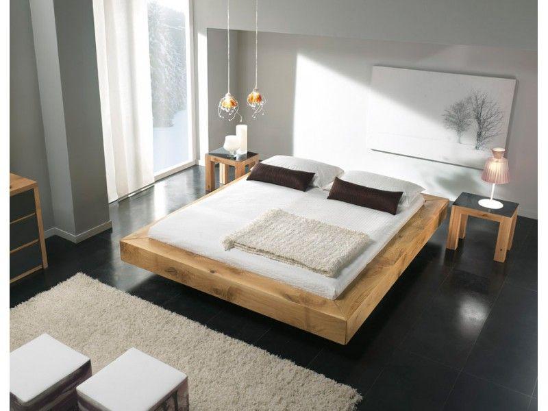 lit poutre ch ne massif d co maison pinterest poutre chene chene massif et poutres. Black Bedroom Furniture Sets. Home Design Ideas