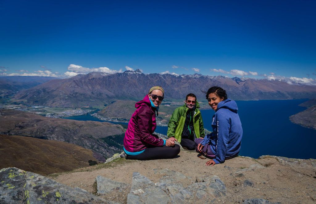 Me and my friends that did the trek with me