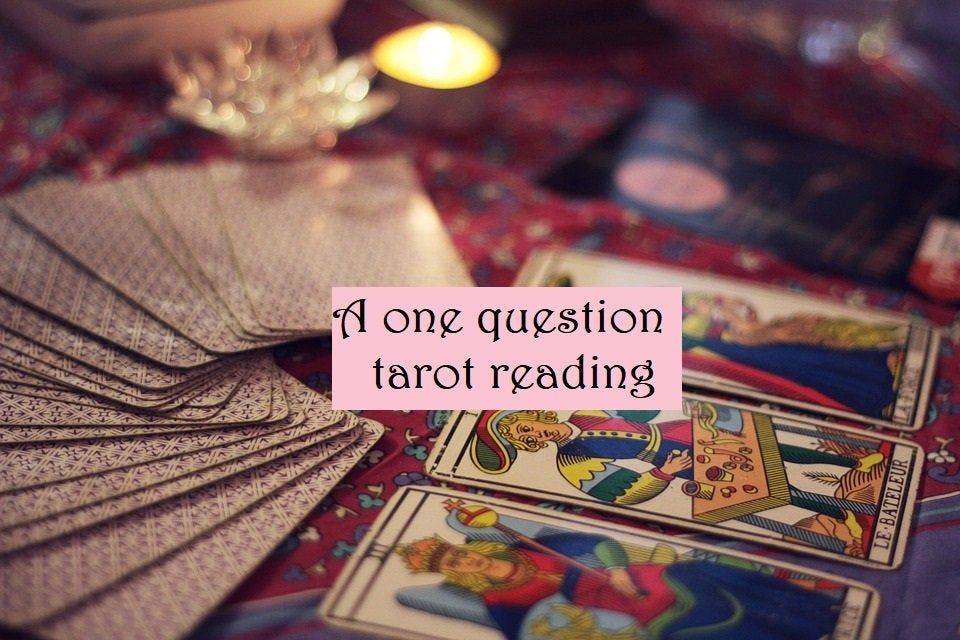 A one question57 card reading intuitive tarot reading
