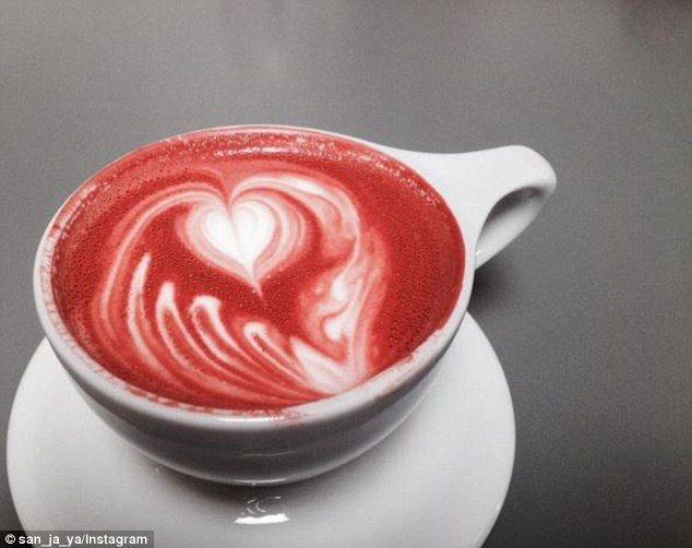 Have your cake and DRINK it too with latest red velvet latte trend ...