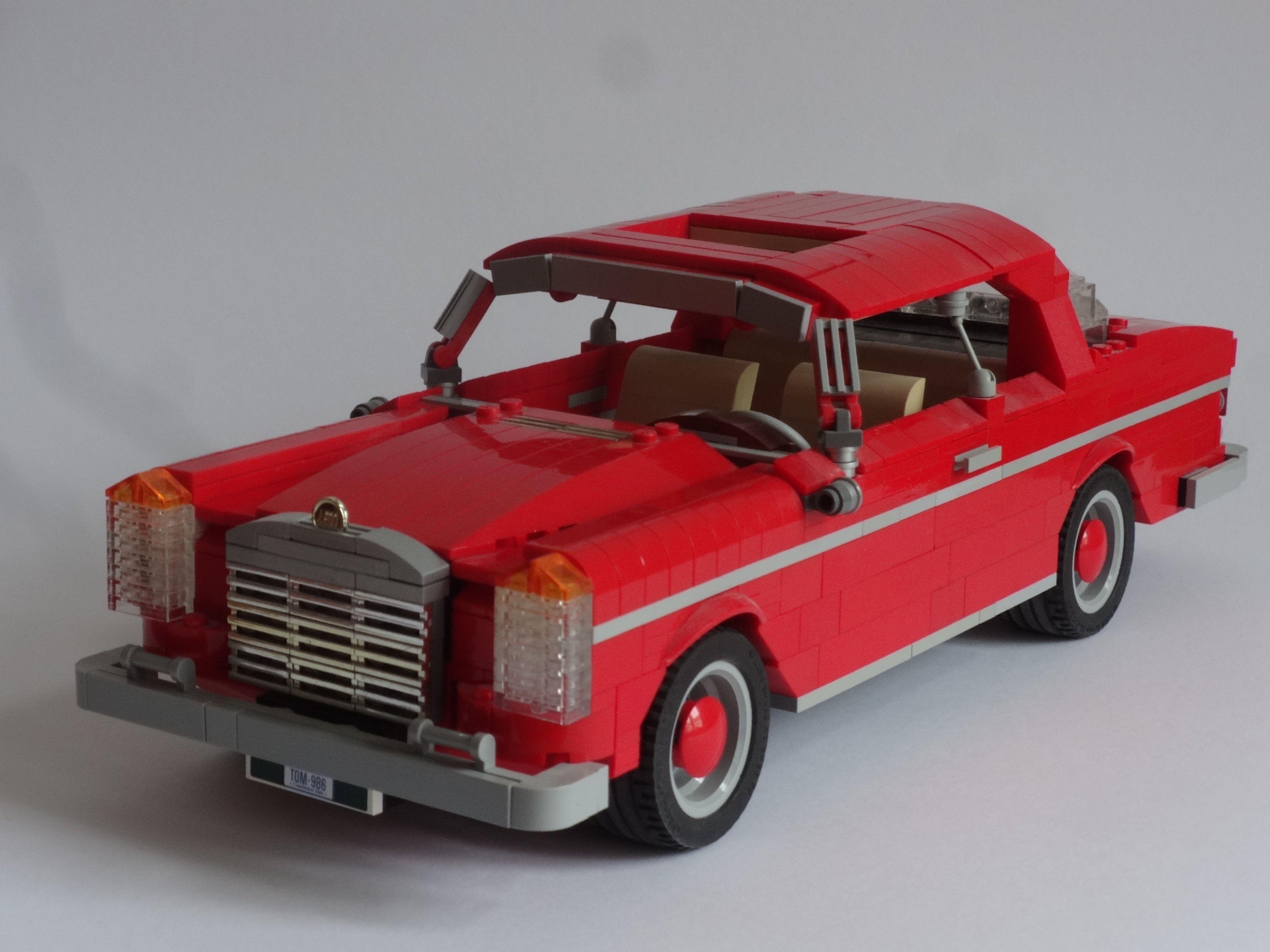 Lego mercedes w111 lego autohof pinterest lego lego for Lego mercedes benz