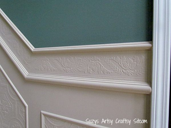 using paintable textured wallpaper to create a whole new look