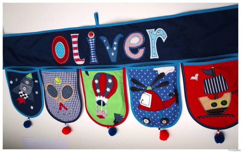 Kinderzimmer Dekoration Kinder Namen Geschenk – Bei TrickyBoo ...