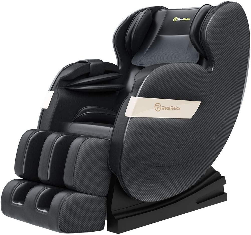 Real Relax 2020 Massage Chair Favor 03 Plus Full Body Zero Gravity Shiatsu Recliner Massage Chair Full Body Massage Massage Chairs