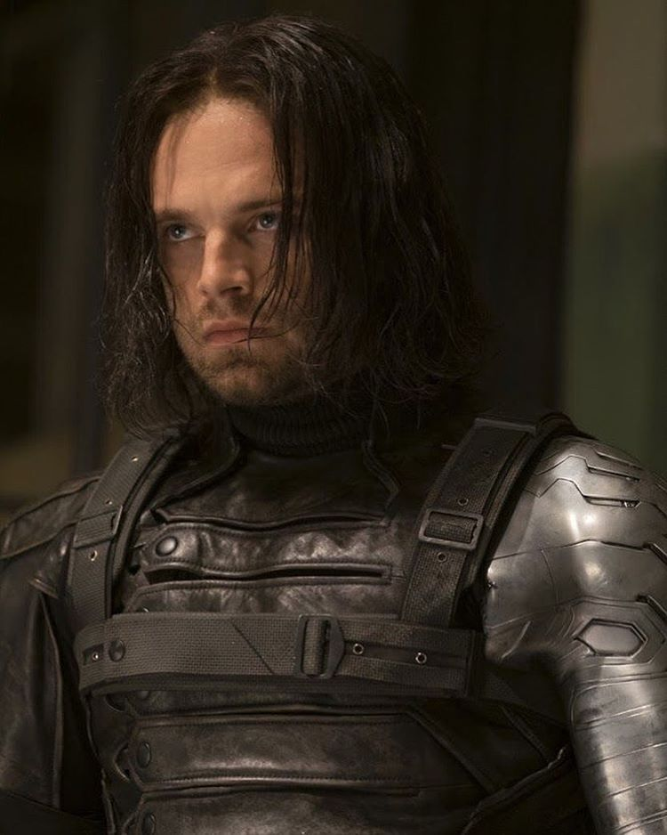 Winter Soldier Hair : winter, soldier, Lowkey, Greasy, Bucky, Barnes, Winter, Soldier,, Soldier, Bucky,