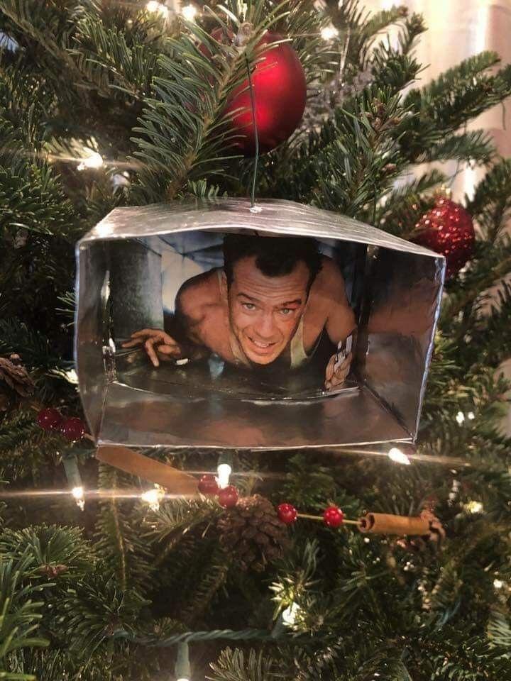 Die Hard Ornament | Classic christmas tree, Indoor ...