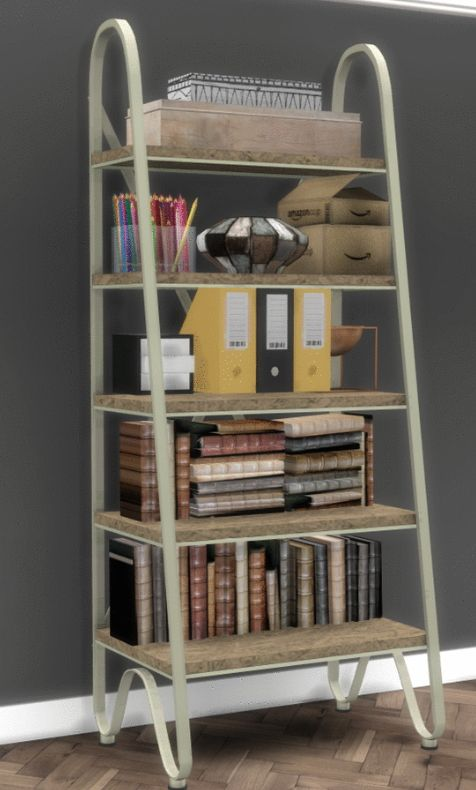 Simsworkshop GE Bookshelf By Sympxls O Sims 4 Downloads