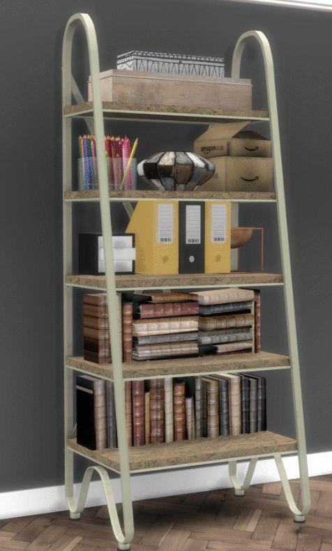 Simsworkshop GE Bookshelf By Sympxls O Sims 4 Downloads