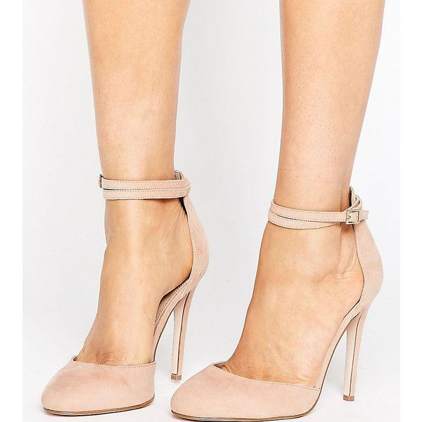 65b93b82a99 ASOS PLAYDATE Wide Fit High Heels ( 48) ❤ liked on Polyvore featuring shoes
