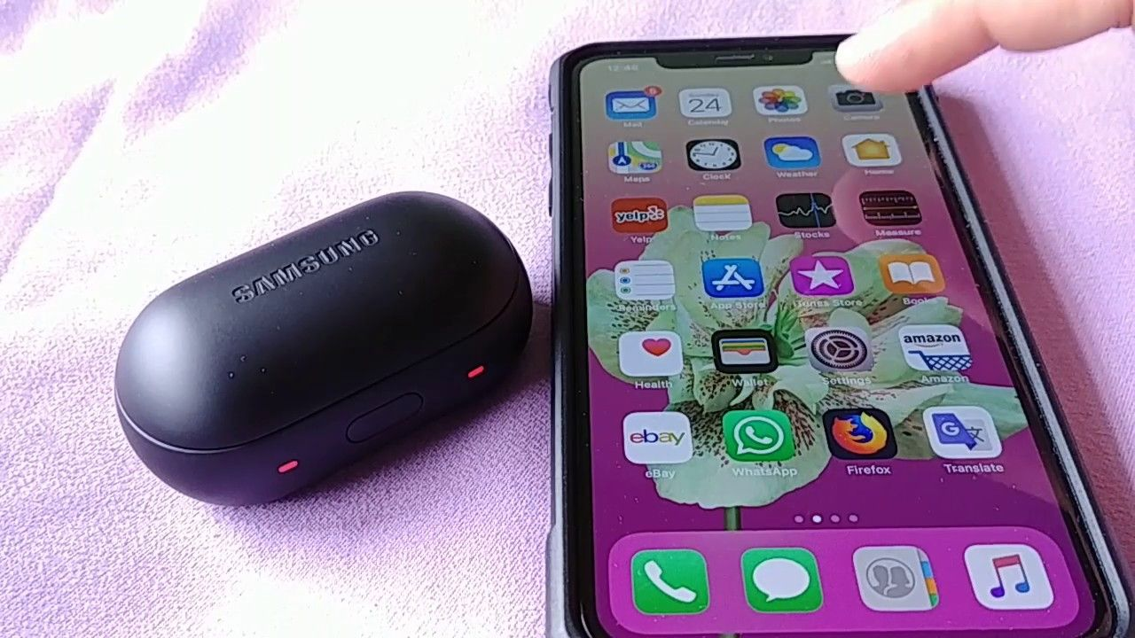 How to pair Samsung Gear Icon X to Iphone X, XS, XS max