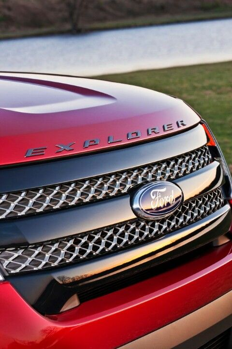 Ford Explorer Blacked Out Grille Con Imagenes Autos Ford