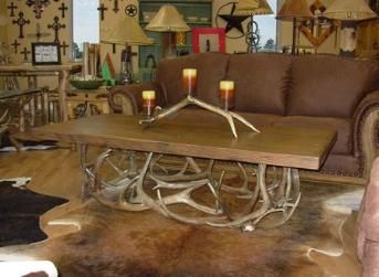 Western Living Room Decor love this coffee table! | *making our house a home* ~ everyday