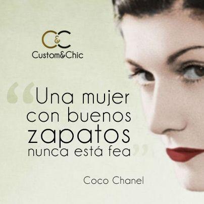Crea tus zapatos a medida en Custom Como decía Coco Chanel, la moda pasa, el estilo permanece. Reivindica tu estilo y crea en www.customandchic.com