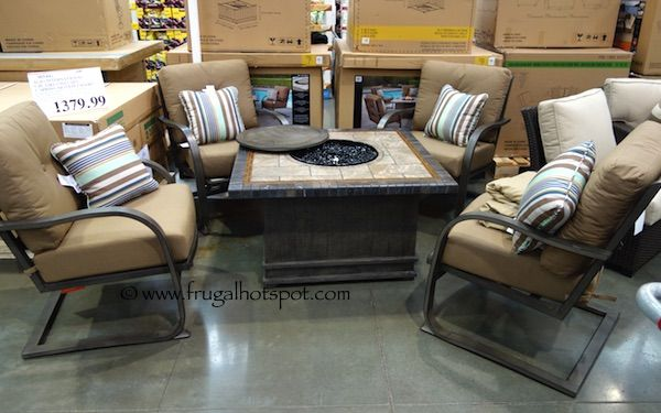 Agio International 5-Piece Fire Chat Set. #Costco #FrugalHotspot ...