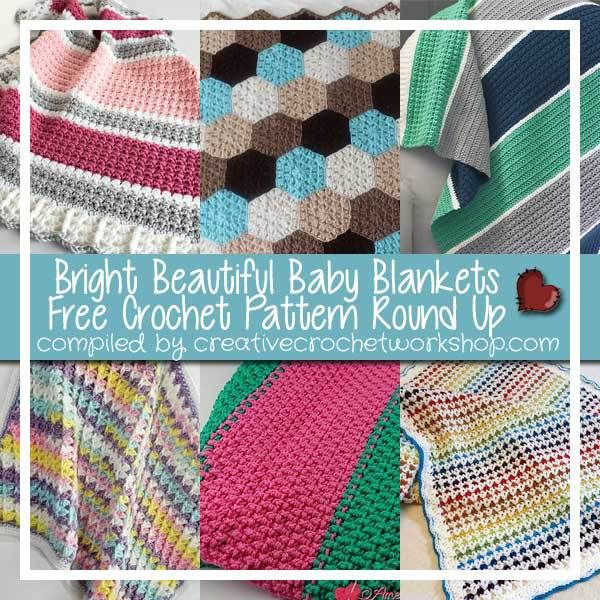 Roundup 6 Free Crochet Patterns For Bright And Beautiful Baby