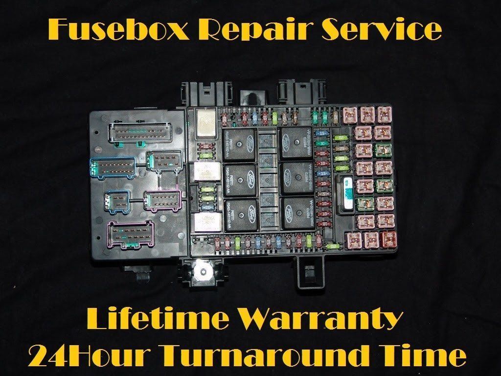 2003-2006 Ford Expedition Navigator Fuse Box Repair Service (Fuel Pump  Relay)