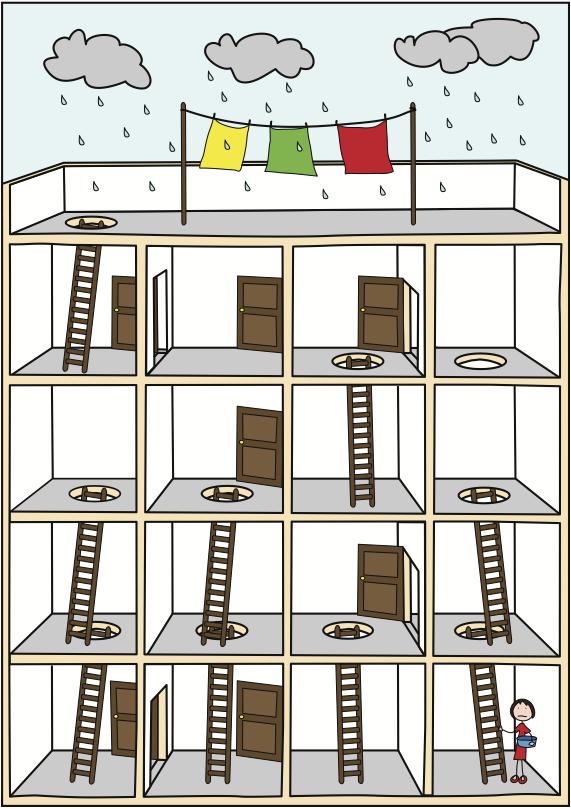 A maze... a Logic Puzzle   Brain teasers   Pinterest   Maze, Count ...