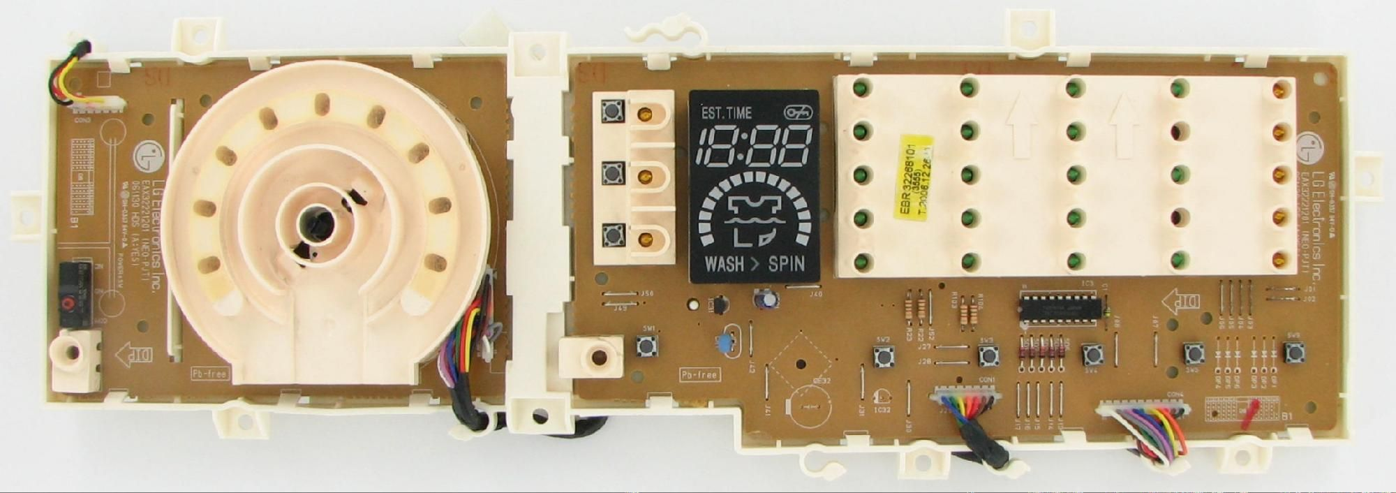 Lg ebr washer electronic control board control boards