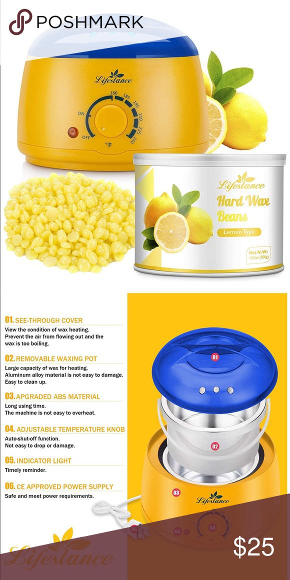 Wax Warm Nwt Wax Warmer Home Waxing Kit Hard Wax Beans