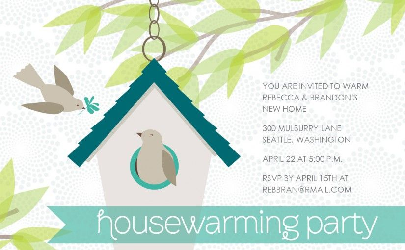 Free Housewarming Invitations  Invitation Sample