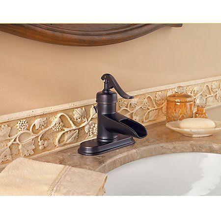 Image 4 Ashfield Single Control Centerset Bath Faucet Inch 1 Handle Or 3 Hole Lavatory Faucets Professional Grade Gt42 Yp0y