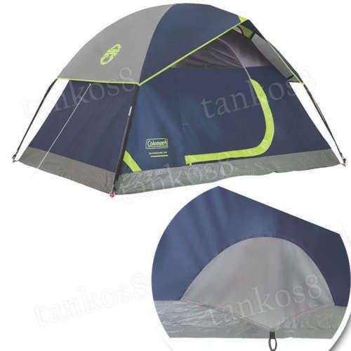 Comfort-Tent-for-2-Man-Camping-Windows-Ventilation-Storage-Pocket-Cool-Air-Port