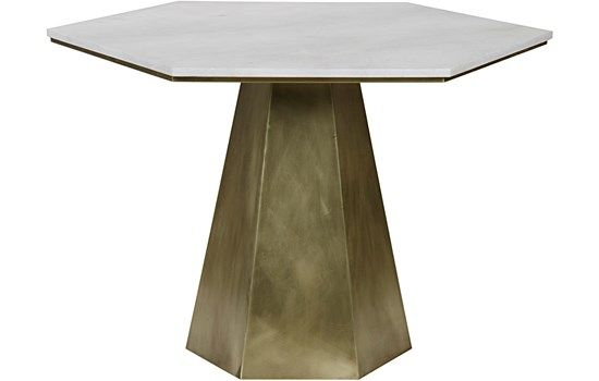 modern brass dining table available at redo home and design ...