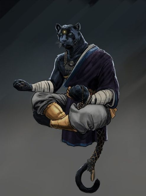 Tabaxi Monk D D Black Geek Society Nerds Of Color Fantasy Character Design Character Art Concept Art Characters I understand that tabaxi are supposed to be tropical, but i liked the idea of going with a snow leopard aesthetic. tabaxi monk d d black geek society