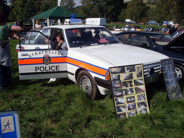 1985 Ford Granada Police Car Police Cars British Police Cars