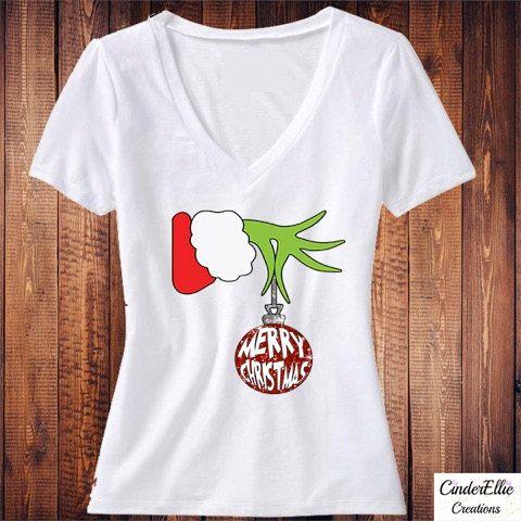 b9979596afa1 Grinch Merry Christmas Shirt How The Grinch Stole Christmas | All ...